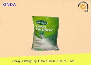 China Side Gusset Heavy Duty Plastic Bags , 20kg Fertilizer Heavy Duty Storage Bags on sale