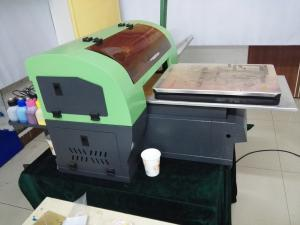 China High Accuracy Scratch Proof uv led inkjet printer A3 for 9CM Max Print Height on sale