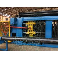 Double Twisted Gabion Mesh Machine Fully Automatic 100*120 Mesh Opening Type