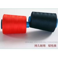 100% Durable Ring Spun Polyester Sewing Thread 40s/2 With Dyed Tubes For Garment Factory