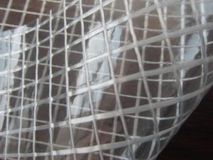 China PVC folder transparent mesh for making travelling and sports Bags, ducument bags, tents on sale