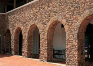 Durable Faux Stone Wall Tiles , Faux Stone Veneer Exterior / Interior Wall  Decoration