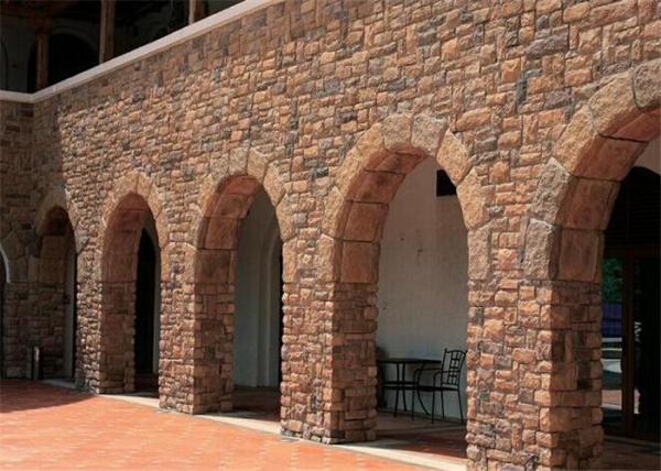 Durable Faux Stone Wall Tiles , Faux Stone Veneer Exterior ...