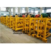 4-40 concrete hollow block machine semi-automatic standard brick machine