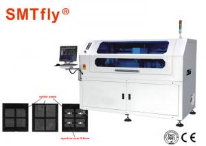 China High - Tech Solder Paste Printing Machine With Stainless Squeegee SMTfly-L15 on sale