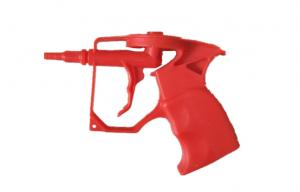 China Red Color Plastic PU Foam Spray Gun Ergonomic Design OEM/ODM Available on sale