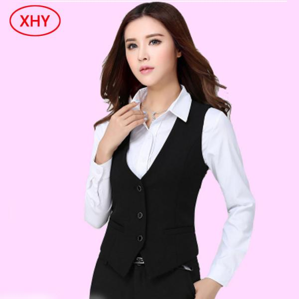 Cotton Polyester Front Desk Hotel Uniforms Front Office