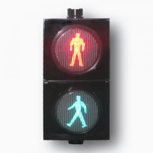 China 300mm Red Green Color Led Pedestrian Static Traffic Signal Light On Sale on sale