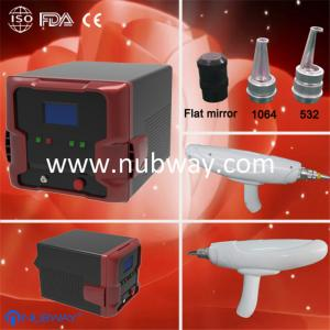 China mini q switched nd yag laser tattoo removal machin on sale
