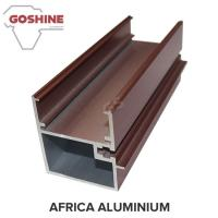 Highly Glossy Aluminum Extrusion Window Frame Rectangle For Sliding Window