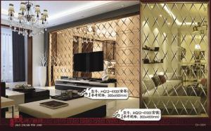 China tejas de mosaico coloreadas 8m m del espejo de cristal para el restaurante, hotel on sale