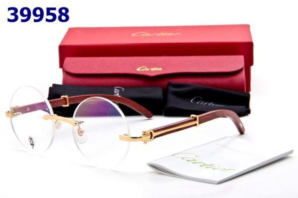 04ade714276 Cartier round Glasses Frames