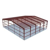 China Low Costs Prefab Workshop Steel Structure Buildings Steel Truss Main Frame on sale