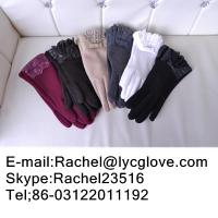 China Cashmere gloves/wool gloves/leather gloves touch screen gloves etc. on sale