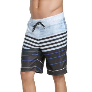 China High Quality 4 way stretch  Custom Dye or  Sublimation Printing Recycled Polyester water repellement Boardshorts on sale
