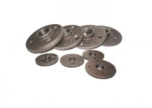 China Durable Galvanized Malleable Iron Floor Flange , 1 Inch Floor Flange For Toilet Pipe on sale