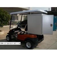 2 Seater Electric Utility Golf Cart With Removable Shelf  Box For Transportation