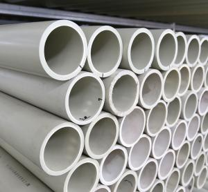 China 22mm-165mm Size Polypropylene Waste Pipe For Water Supply And Chemistry on sale