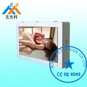 China 10 Points Infrared Touch Kiosk / Outdoor Lcd Digital Signage Display IP65 Waterproof on sale