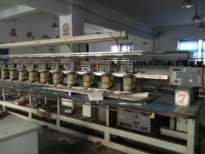Used Embroidery Machines For Sale >> 18 Heads Barudan Used Embroidery Machines Used Monogram