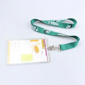 China Most Popular hard plastic id card holder lanyard  ID card holder lanyard on sale