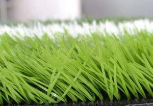 China Low Friction Green Football Artificial Turf 50.0mm Pile Height With UV Properties on sale