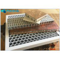 China 28mm Thickness Eco - Friendly Aluminum Honeycomb Core Panels Curtain Wall Board on sale
