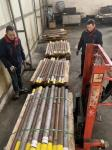 87 Mm Diameter Extruder Screws And Barrels , Extrusion Machine Parts Screw