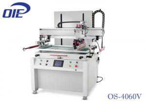 China Electric Driven Flat Bed Screen Printing Machine With Vacuum Table on sale