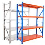 Medium Duty Wide Span Q235 Steel Steel Storage Rack 200kg