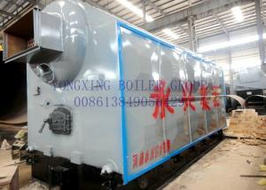 China 4 Ton Coal Fired Hot Water Boiler Equipped Single Drums For Textile Industry on sale