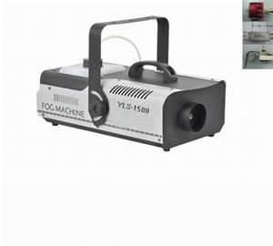 China Professional stage light 1500W disco fog machine for home party, concerts, pubs on sale