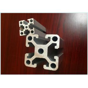 China 20mm x 20mm Anodized Industrial Structural Aluminum Profiles For Assembly Line on sale