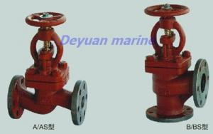 China Marine Cast Iron Flanged Stop Check Valves on sale