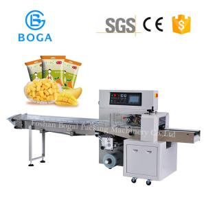 China Dragon Mango Packing Machine Flow Wrap Packaging 3770*670*1450mm Size on sale