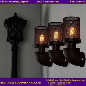 China metal up and down vintage wall lamp with ST64 Edison bulb for dinning room on sale