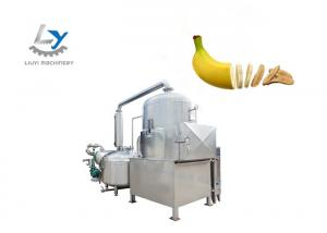 China Banana Industrial Fruit Chips Making Machine Pump Power 7.5kw No Color Fading on sale