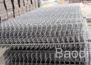 Balcony / Wall Welded Wire Mesh Concrete Reinforcement Sizes