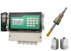 China Clamp On Non Invasive Ultrasonic Flow Meter Strong Anti - Interference on sale