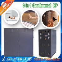 10-115kw Trinity Underground Source Heat Pump HVAC System Chiller Heating Live Hot Water