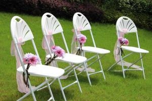 China China High Quality Mesh Plastic Folding Chair for Wedding Metal Folding Chairs Sale on sale