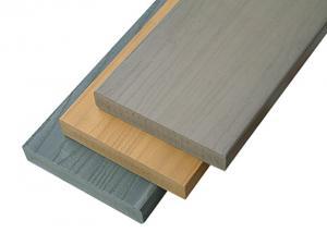 China 25mm Thickness Garden Outdoor Composite Deck Boards / Wood Floor on sale
