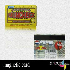 China CMYK Eco Friendly PVC Magnetic Stripe Credit Cards For Business Card on sale