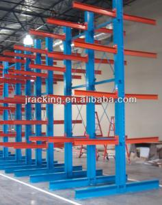 China Heavy duty warehouse powder coating double side cantilever racking on sale