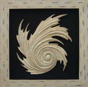 China abstract wood carving for wall decor on sale