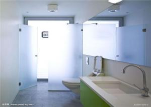 China Safety Tempered Frosted Glass Sheets / Custom Frosted Glass For Bathroom Door on sale