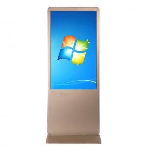 China Floor Stand Full HD Digital Signage Kiosk , Media Player Touch Screen Display 49 Inch on sale