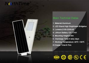 China 50W Solar Panel High Lumen Solar Lights For Public Projects on sale