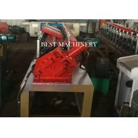 China Galvanized Steel Metal Stud And Track Roll Forming Machine Chain Driven Type on sale