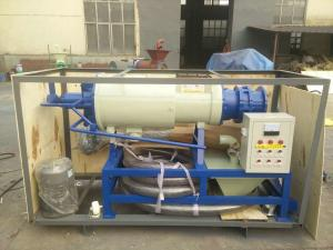 China Solid liquid Separator Milking Machine Spare Parts for Cow Pig Chicken Slaughterhous waste on sale